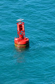 Navigational Buoy In the Ocean — Stock Photo
