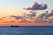 Sunset at Sea — Stock Photo