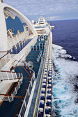 Cruise Ship From Side View — Stock Photo