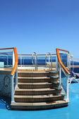 Jacuzzi Tub on a Caribbean Cruise — Stock Photo