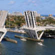 Ft. Lauderdale Bridge Lifting - Stock Photo