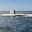 Stock Photo: Recreational Submarine Surfacing