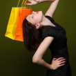 Woman With Shopping Bags — Stock Photo #14765321