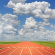 Running Track — Stock Photo #14765795