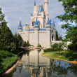 Disney Castle in Orlando - Stockfoto