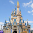 Stock Photo: Castle at Disney World in ORlando