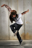 Hiphop man dans — Stockfoto