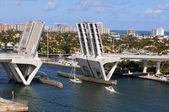 Ft. lauderdale Köprü kaldırma — Stok fotoğraf