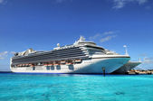Cruise Ships Anchored in Grand Turk Island — Stock Photo