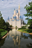 Disney Castle in Orlando — Stock Photo