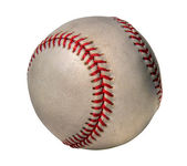 Grunge 棒球-hdr 图像 — 图库照片
