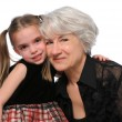 Grandmother and Granddaughter — Stock Photo #15392507