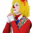 Clown Praying — Stock Photo