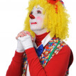 Royalty-Free Stock Photo: Clown Praying