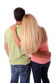 Casal abraçando — Foto Stock