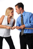Battle of the Sexes — Stock Photo