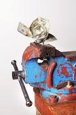 Money Crunch — Stock Photo