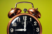 Close Up of Vintage Alarm Clock — Stock Photo