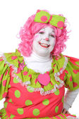 Clown Smiling — Stockfoto