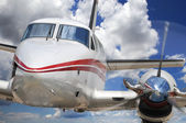 Corporate Airplane — Стоковое фото
