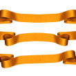 Gold Ribbons — Stock Photo #15818679