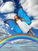 Little Fairy Flying — Foto de Stock