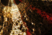 Detail of Cymbal — Stock Photo