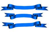 Blue Ribbons — Stockfoto