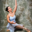 Stock Photo: Ballerina Performing