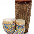 African Bongo Drums — Stock Photo #15822877