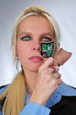 Bionic Woman — Stock Photo