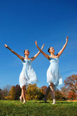 Ballerinas Dancing — Stock Photo