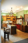 Colorida cocina moderna — Foto de Stock