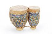 African Bongo Drums — Stock Photo
