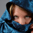 Stock Photo: Veiled Woman