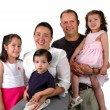 Latin Family — Stock Photo
