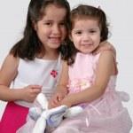 Two Hispanic Sisters — Stock Photo #16639785