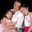 Hispanic Mother and Daughters — Stock Photo
