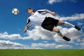 Soccer Action — Stok fotoğraf