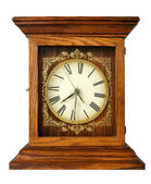 Old Grungy Clock — Stock Photo
