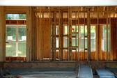 Interior of Housee Framing — Stock Photo
