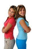Sisters and Friends — Stock Photo