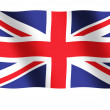 Flag of Great Britain — Stock fotografie
