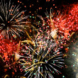 Stock Photo: Fireworks Grand Finale