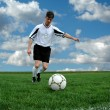 Soccer player — Stock Photo #16856163
