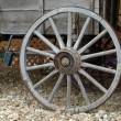 Stock Photo: Wagon Wheels