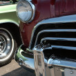 Vintage Car Detail - Stock Photo