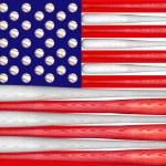 ������, ������: Baseball US Flag