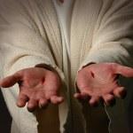 The Hands of Jesus — Stock Photo