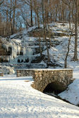 Frozen Waterfall — Foto de Stock